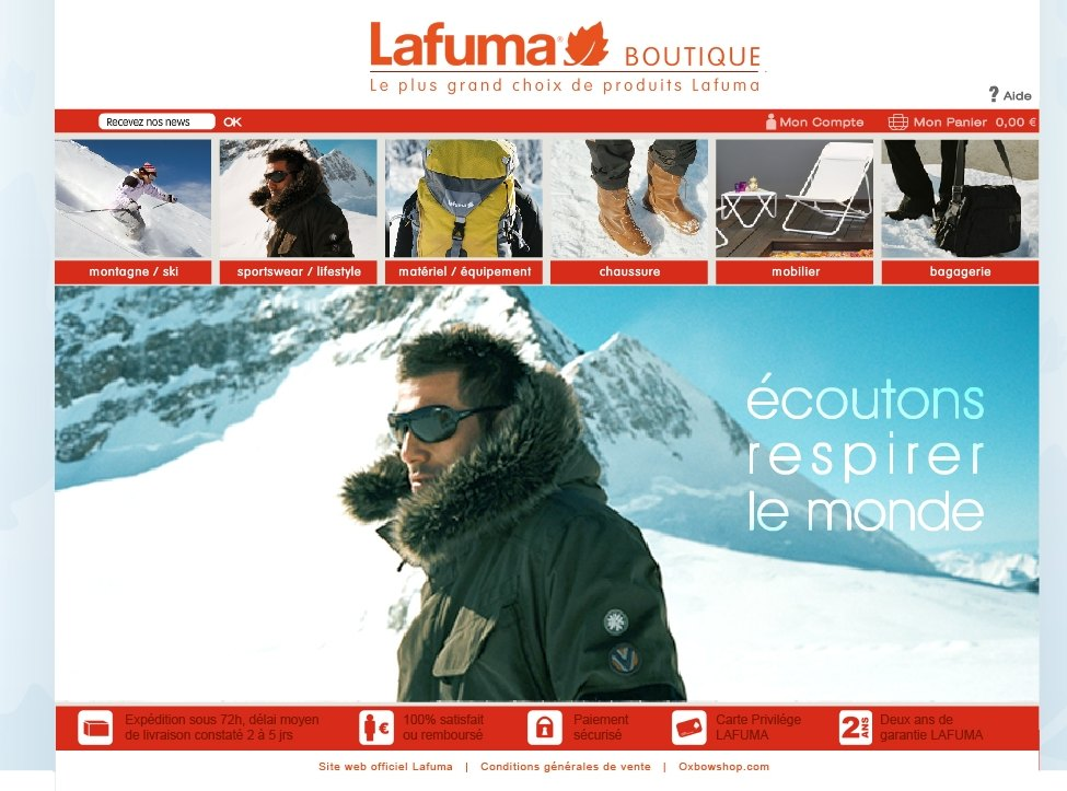 Lafuma home